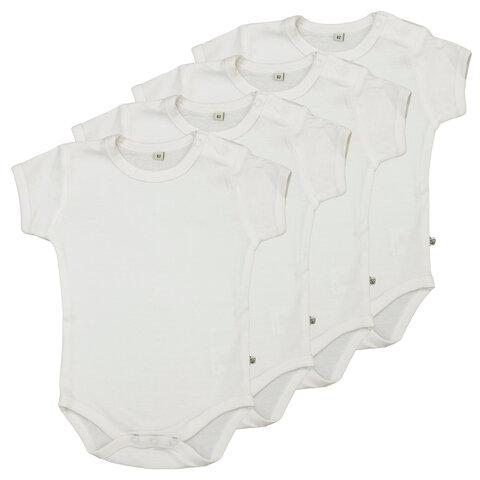 4 Stk K/Æ Bodystockings - White 100
