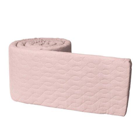 Sengerand, quiltet, blossom pink