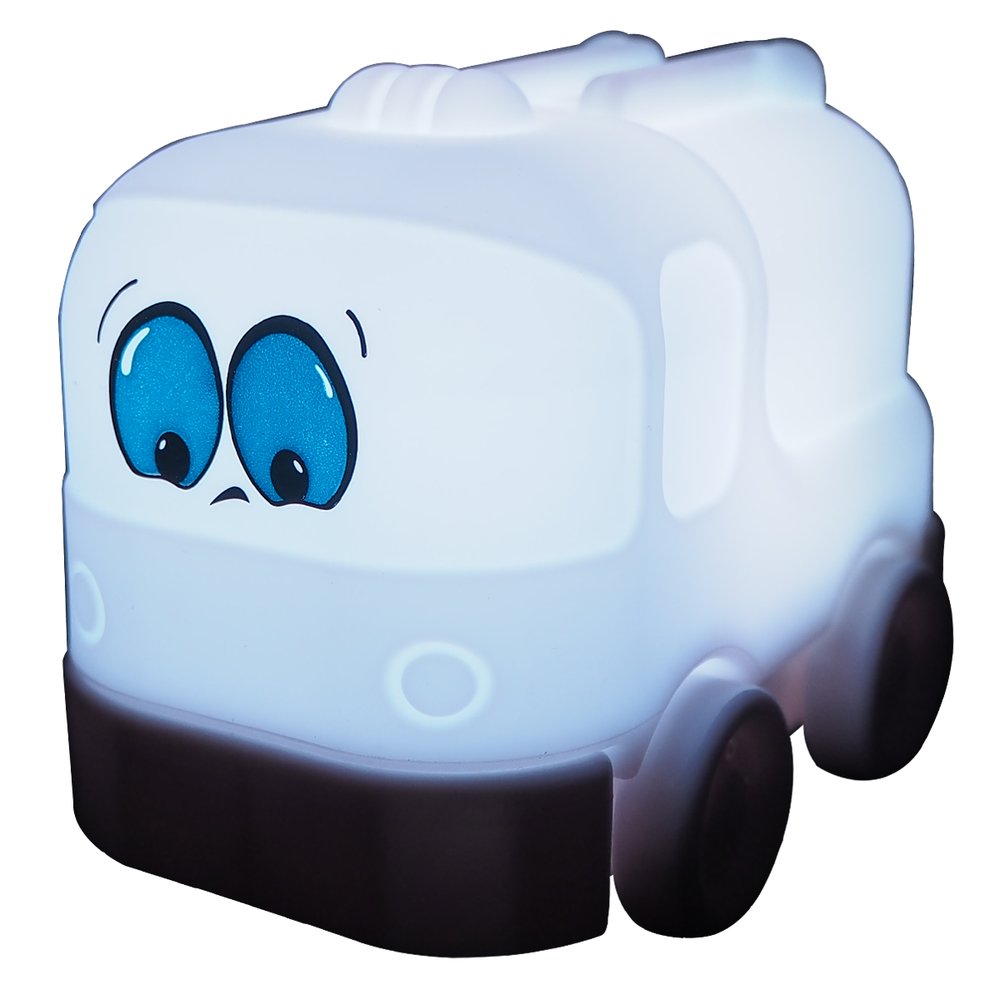 Tiny Tot Brandbilen Billy natlampe med usb oplader thumbnail