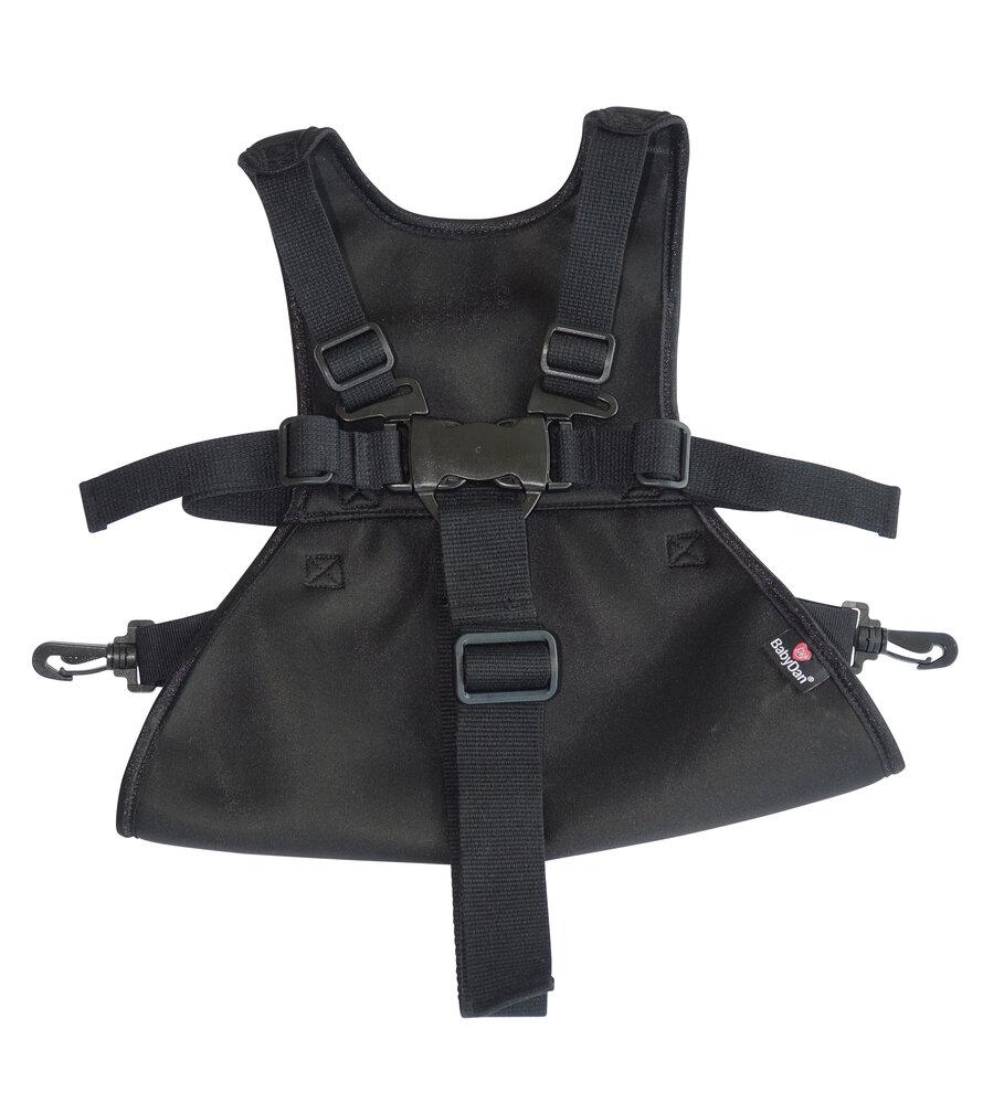 BabyDan Lux selen, sort åndbar