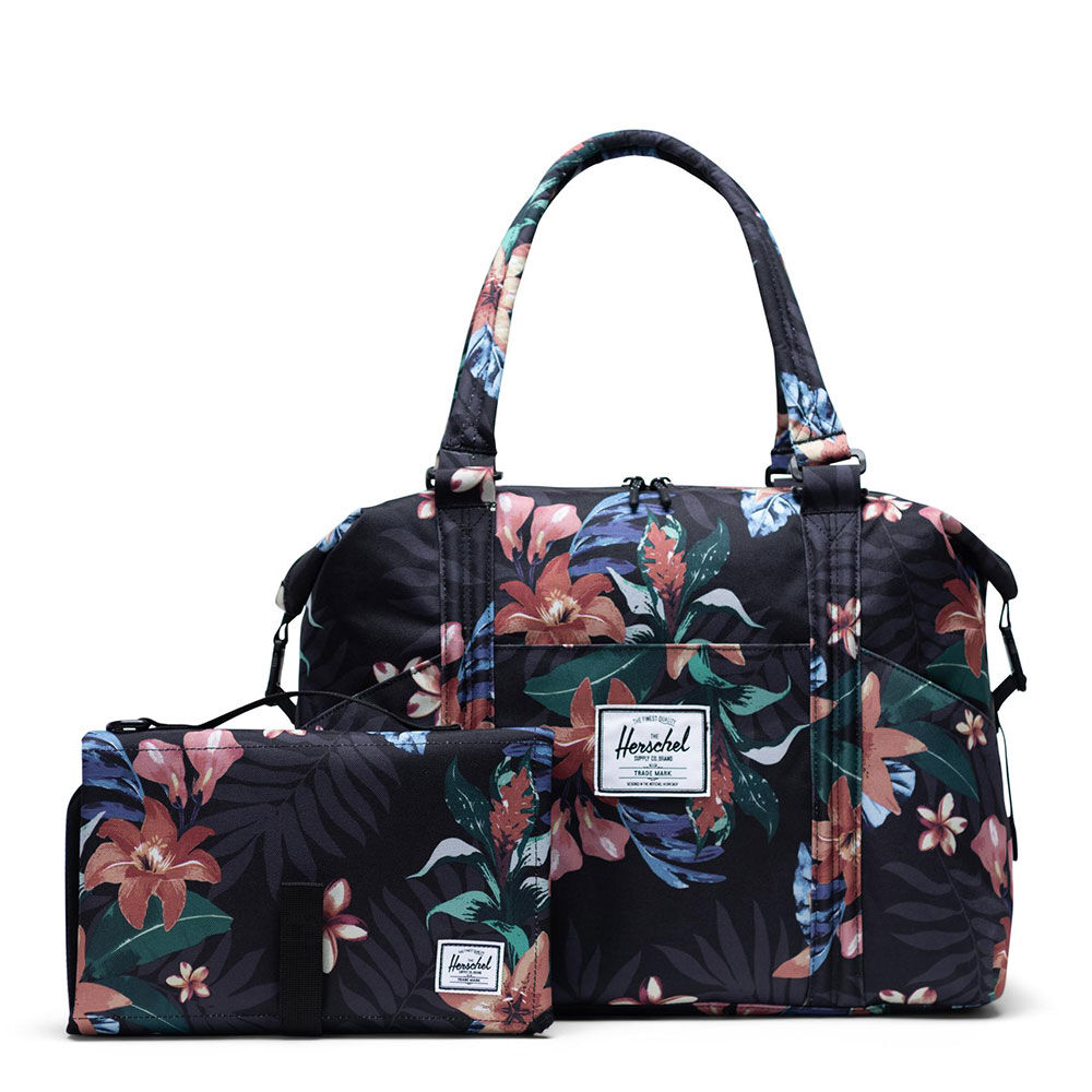 Image of   Herschel Strand Sprout - Summer Floral Black