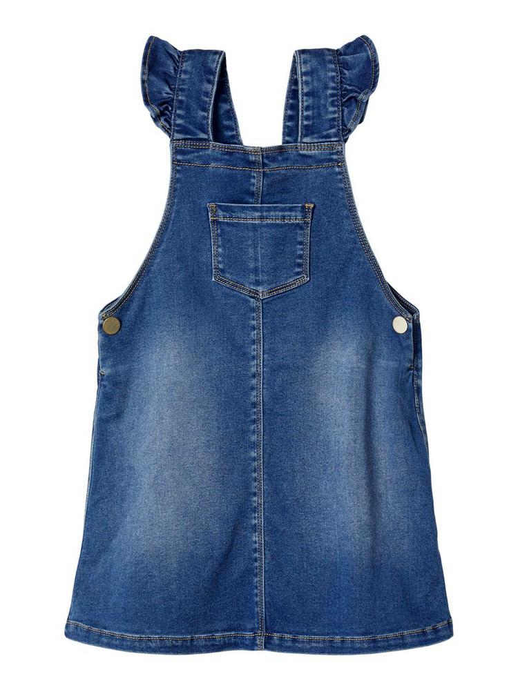 Lil' Atelier Tora denim kjole - Medium blue thumbnail