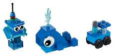 Kreative blå klodser