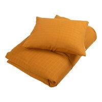 Muslin sengetøj junior, Golden mustard