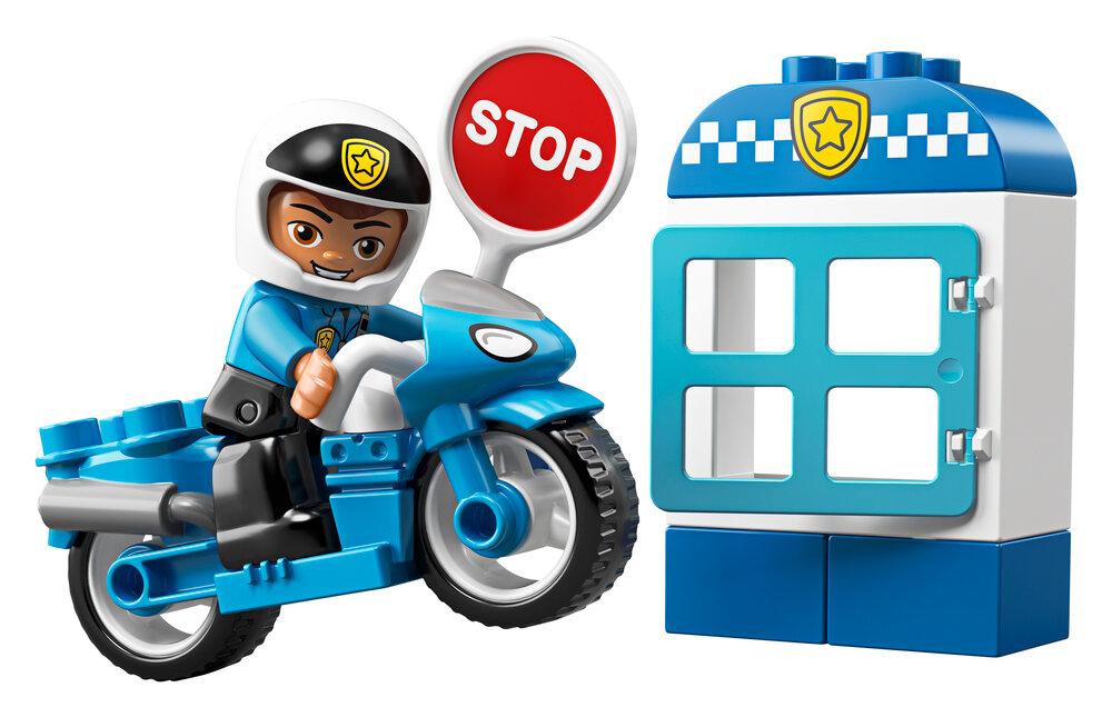 LEGO Politimotorcykel