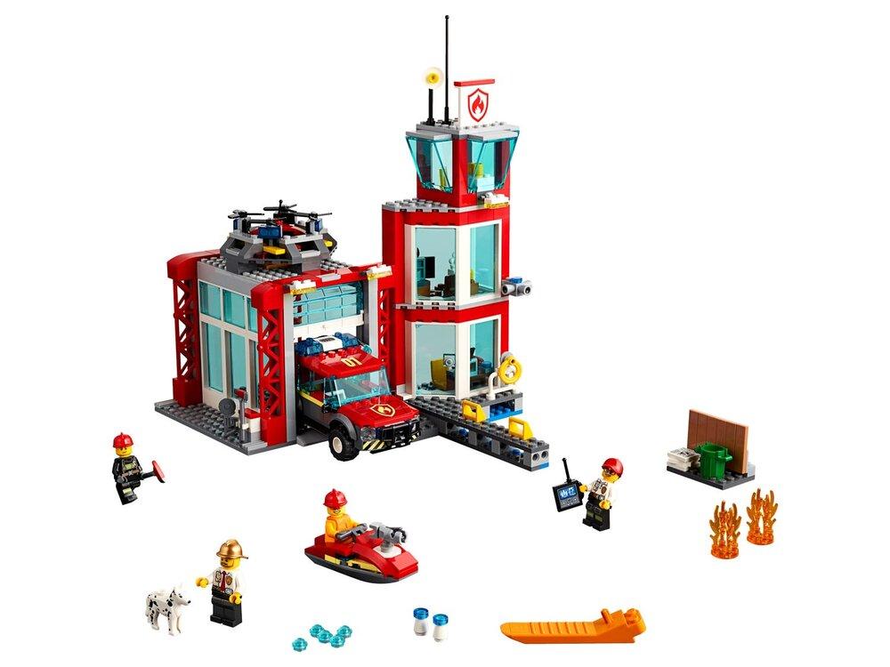 LEGO Brandstation - Byggesæt & klodser - LEGO