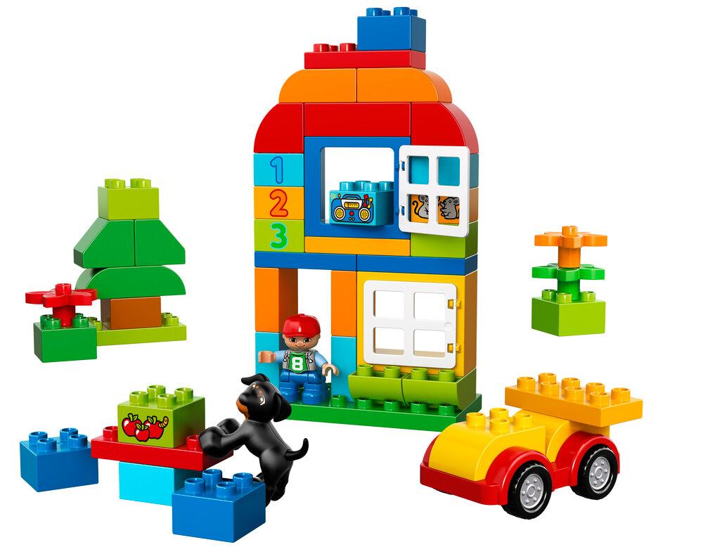 LEGO® DUPLO® Alt i én-boks - Byggesæt & klodser - LEGO