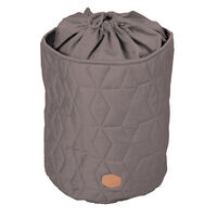 Storage bag Soft quilt, Dark grey