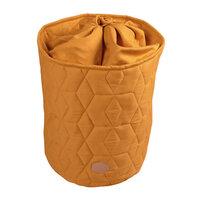 Storage bag Soft quilt, Golden mustard