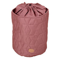 Storage bag Soft quilt, Wild rose