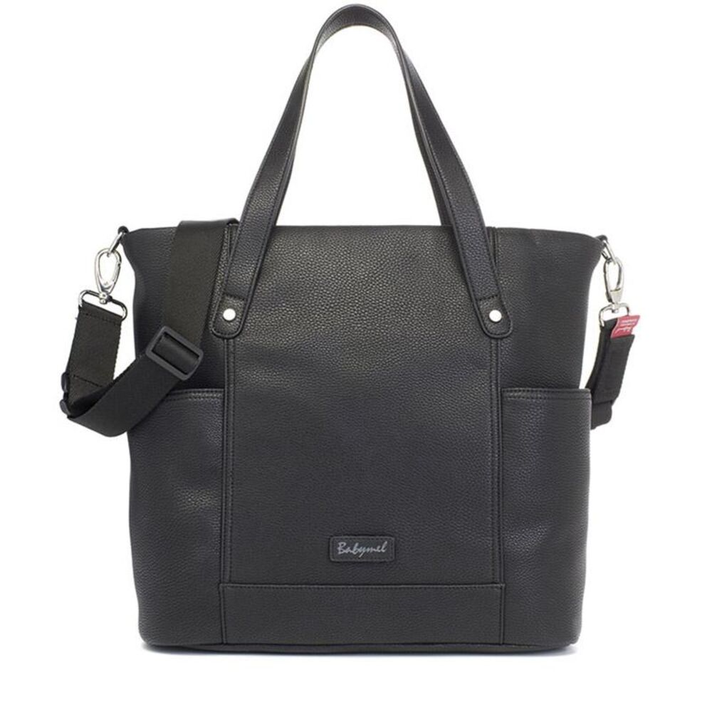 Image of   Babymel Rosie Vegan Leather Black