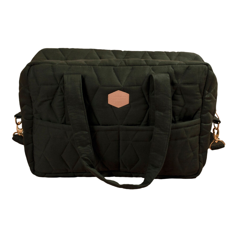 Image of   Filibabba Mommybag soft quilt Dark Green