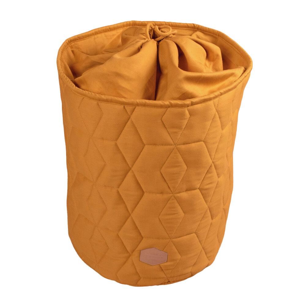 Filibabba Storage bag Soft quilt, Golden mustard thumbnail