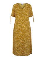 Carlin midi kjole - YELLOW