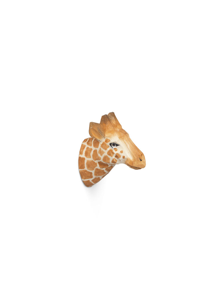 Image of   ferm Living Håndskåret dyrekrog - giraf
