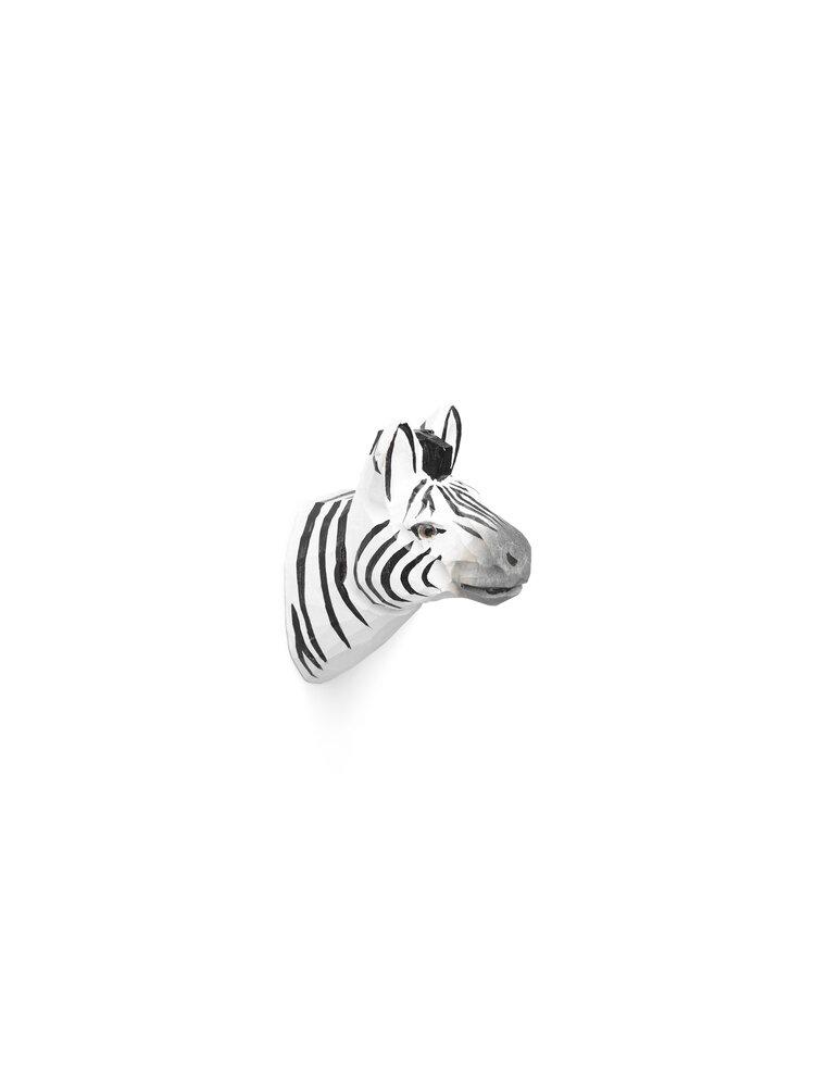 Image of   ferm Living Håndskåret dyrekrog - zebra