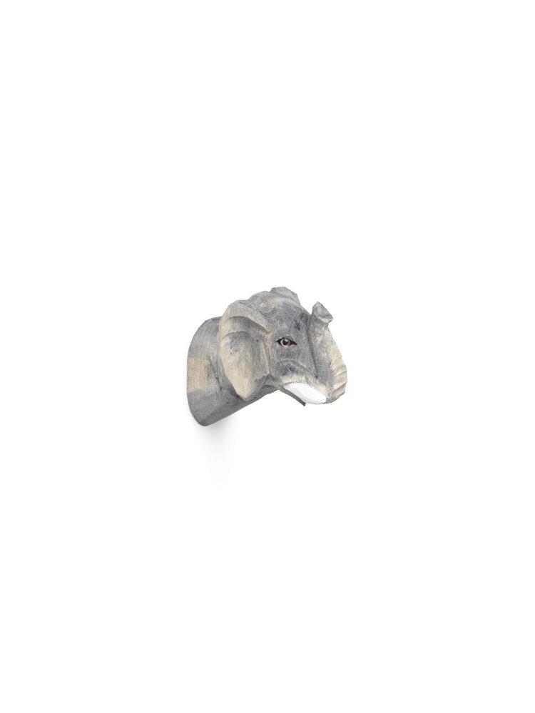 Image of   ferm Living Håndskåret dyrekrog - elefant