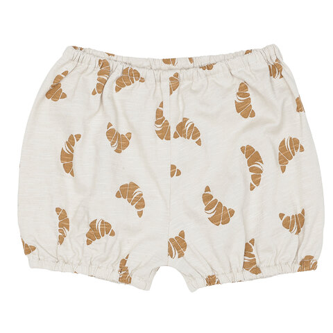 Bloomers croissant print - Off White