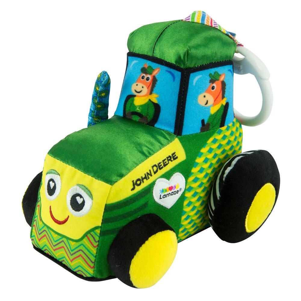 Image of   Lamaze JD Traktor rangle i stof