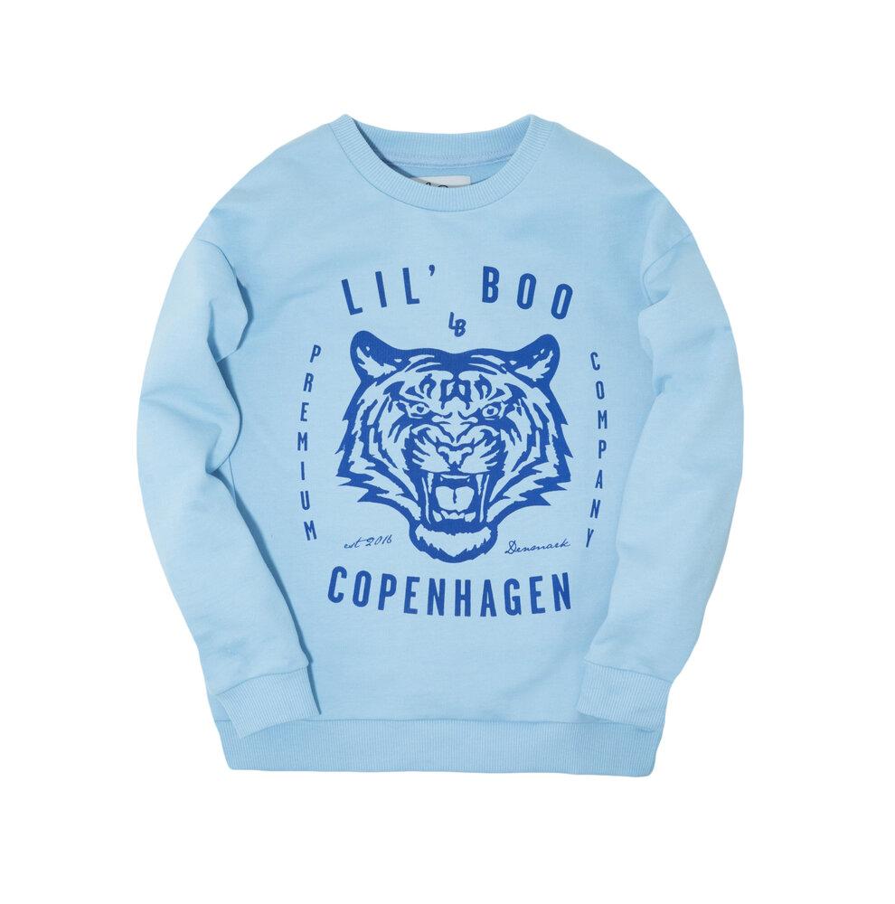 Image of Lil' Boo Sweatshirt - Lyseblå (a2a7d3e1-cdad-4547-bc18-4467f656738a)