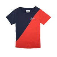 T-shirt - Rød/Navy