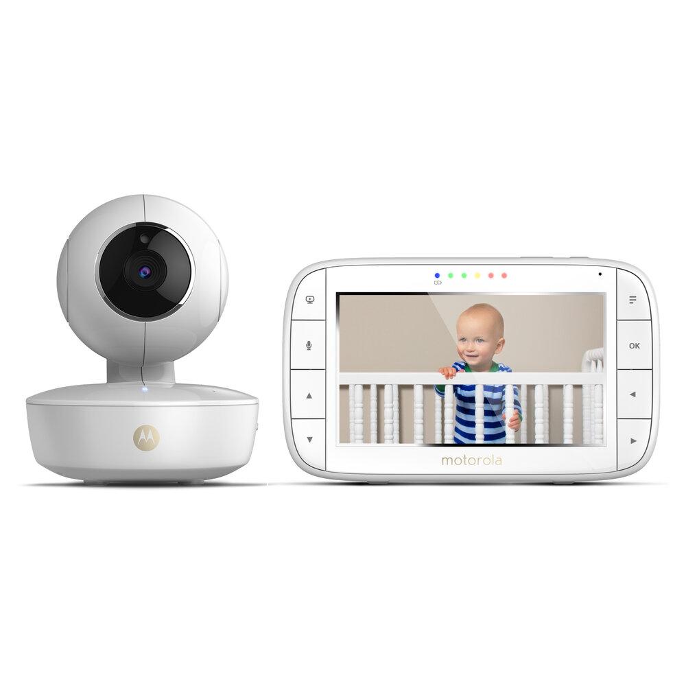 Image of Motorola babyalarm video MBP55. Trådløst kamera (acc1d579-6ef7-4fed-b1d9-794b65d52fed)