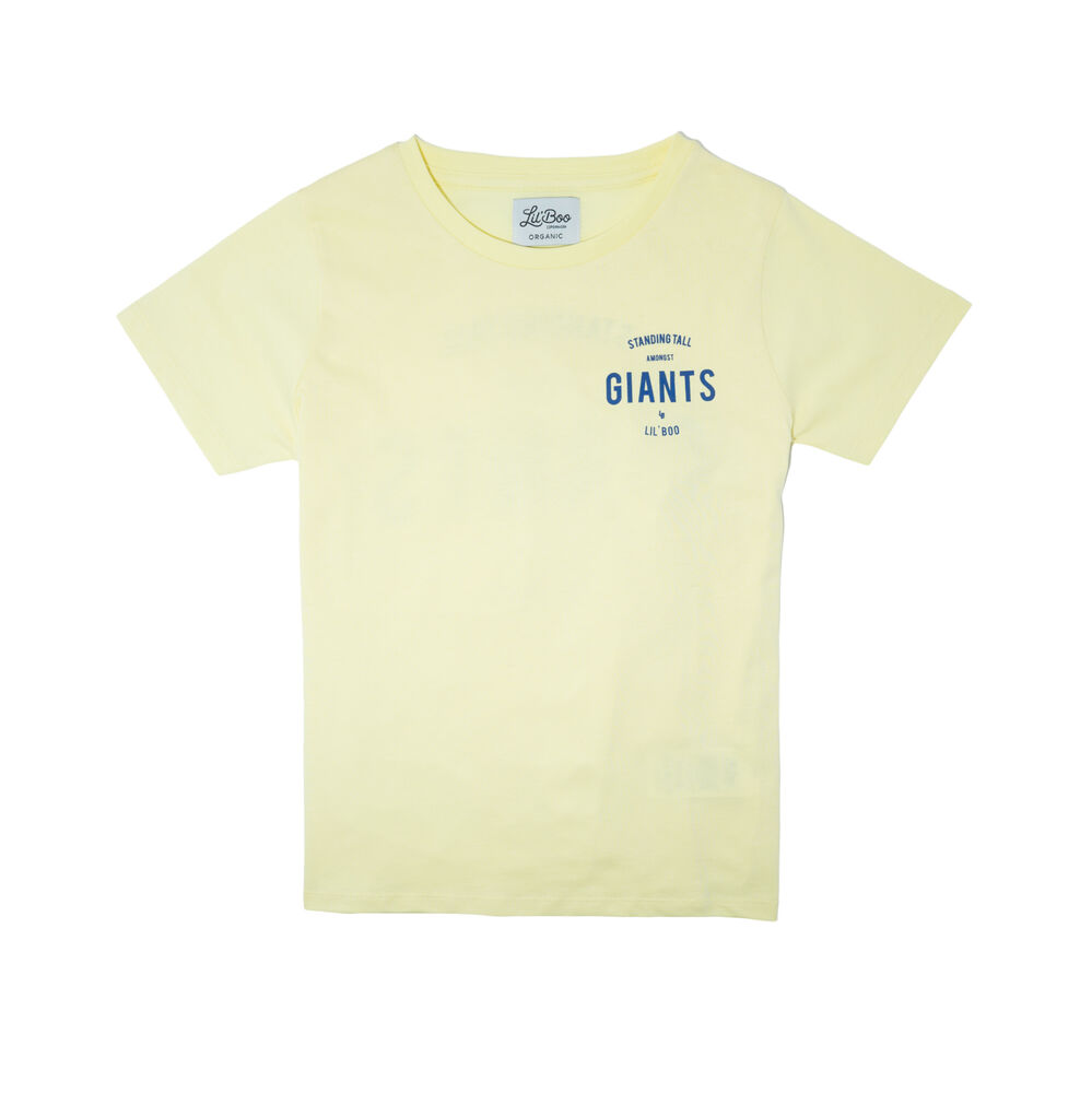 Image of Lil' Boo T-shirt - Gul (ebb36868-04fd-4d7d-8641-68e6ffe927b5)