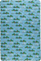 Quilted Babytæppe blue grotto