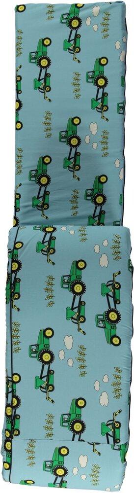 Småfolk Sengerand med traktor blue grotto - Sengerande & sengeheste - Småfolk