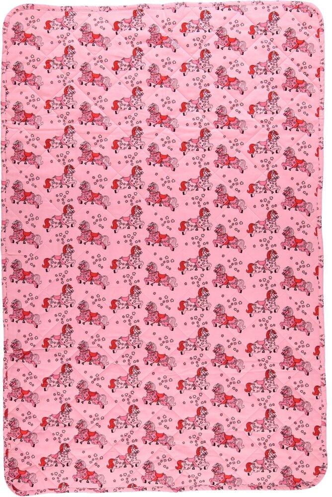 Småfolk Quilted Babytæppe sea pink - Plaider & babytæpper - Småfolk