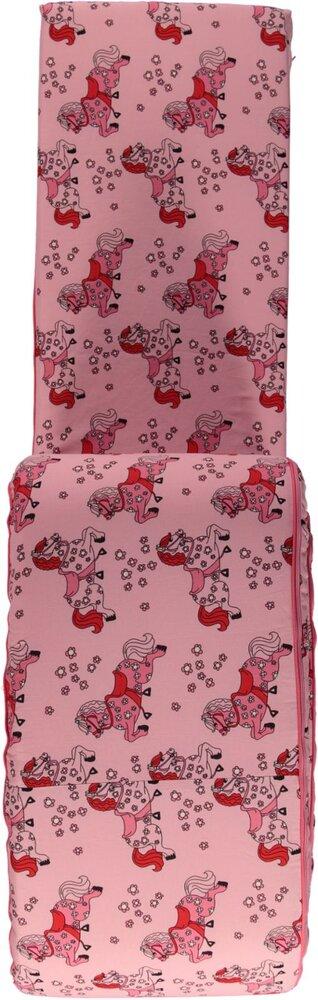Småfolk Sengerand med heste - sea pink - Sengerande & sengeheste - Småfolk