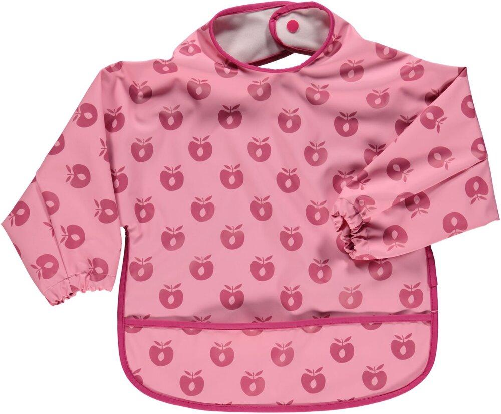 Småfolk Forklæde med ærmer sea pink - Hagesmække - Småfolk