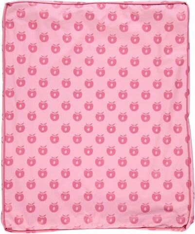 Puslehynde med æbler - sea pink