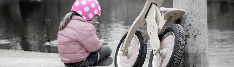 Løbecykler, løbehjul & biler