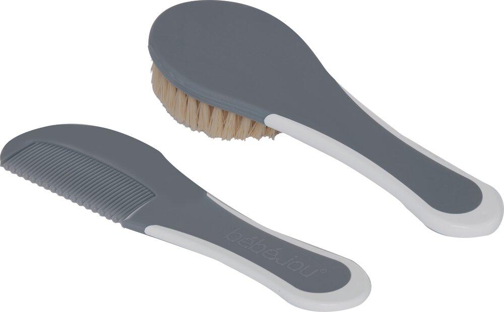 Image of   Bébé-Jou Kam & Børste, griffin grey