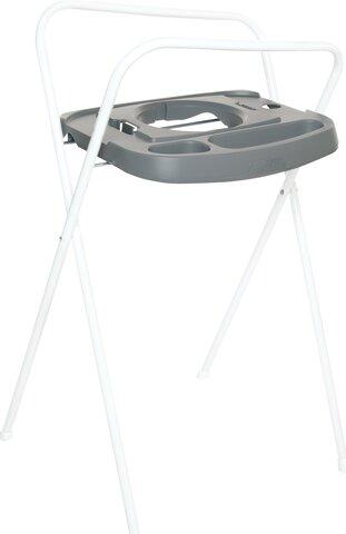 Badekarstativ click, metal 98 cm, griffin grey