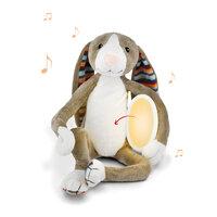 BO krammedyr med natlampe, kanin