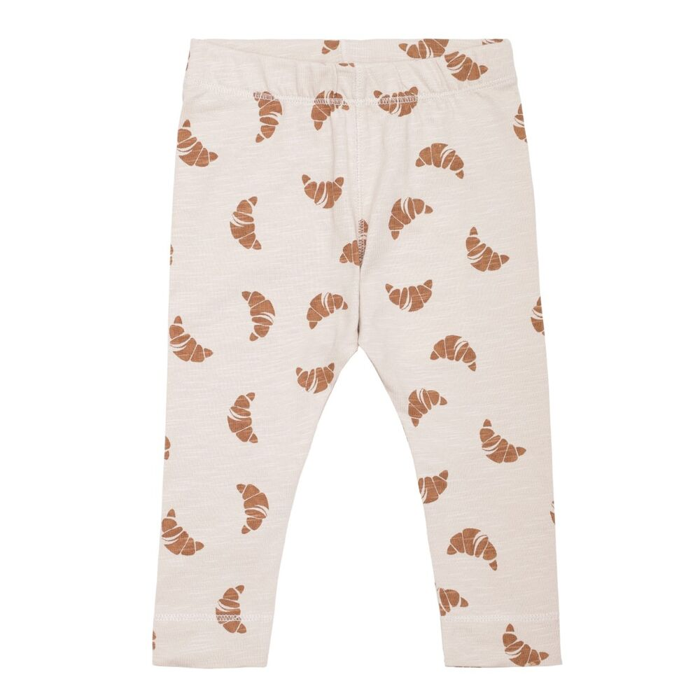 Image of Monsieur Mini Simpel leggings Croissant - OFFHWHITE/APPLE (da964f80-d7a3-453c-aa89-7982e150d02a)