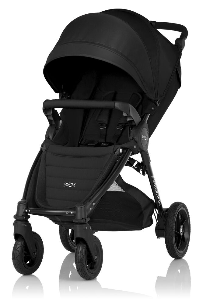 Image of Britax B-Motion 4+ Inkl. Kaleche Cosmos Black (1ec99122-cfe3-4201-aa40-046e17a89077)