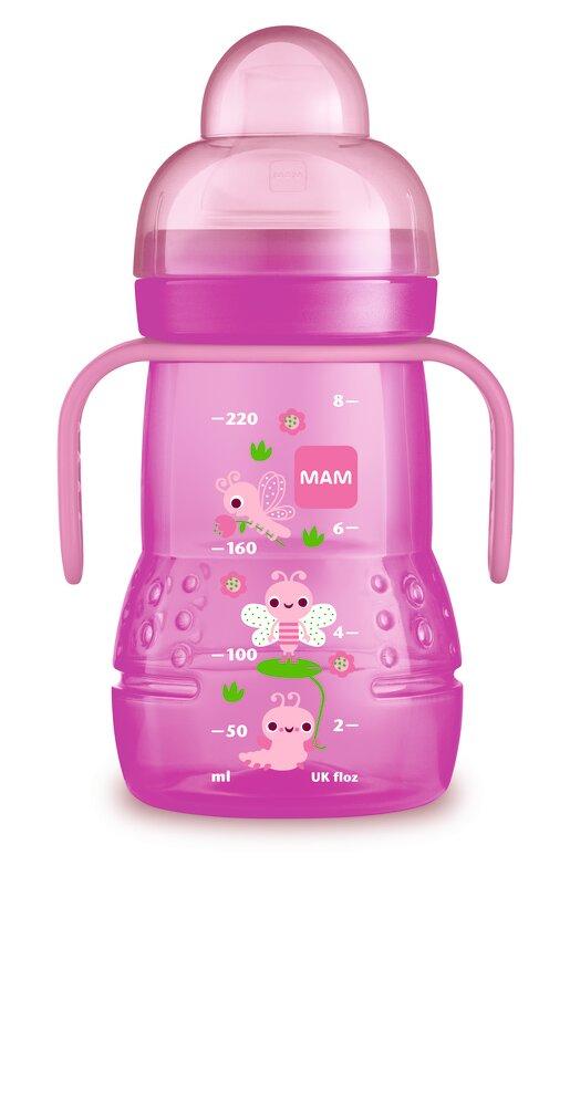 Image of   MAM Trainer 220ml - Pink