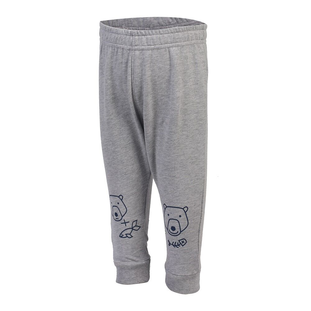 Image of   Color Kids Katmy Sweatpants Med Print - 101 Grå