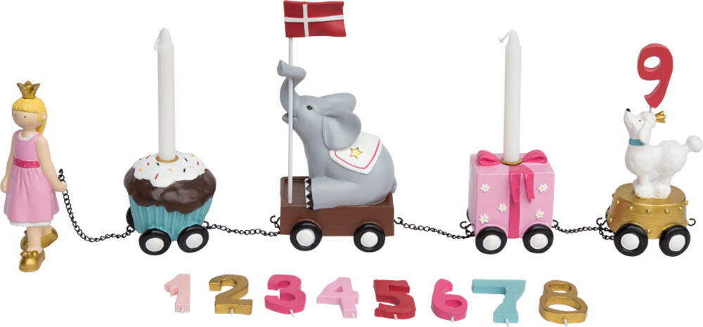 Image of   Kids By Friis Fødselsdagstog - Prinsesse