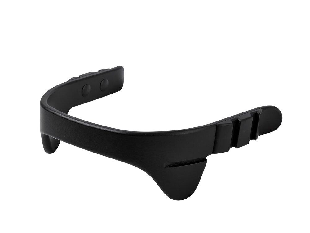 Image of   Leander® bøjle til højstol inkl. læderstrop - Sort - Strop: sort