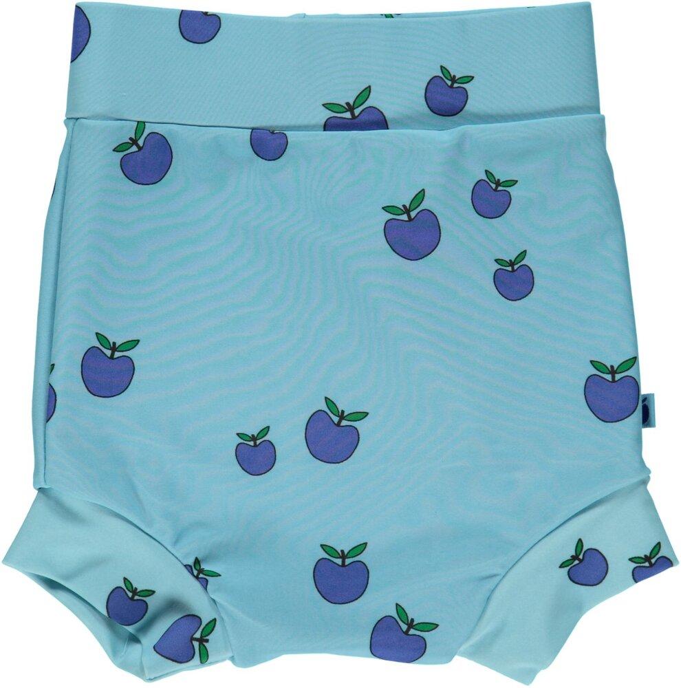 Småfolk Blebadebukser, Høj Talje, UV50 - AIR BLUE - Badetøj - Småfolk