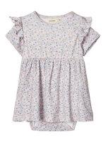 Gaya kortærmet kjole - 13-3801