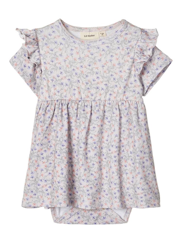 Image of Lil' Atelier Gaya kortærmet kjole - 13-3801 (bb81f7b8-4ffc-425c-aa9a-f7ef35c3851e)