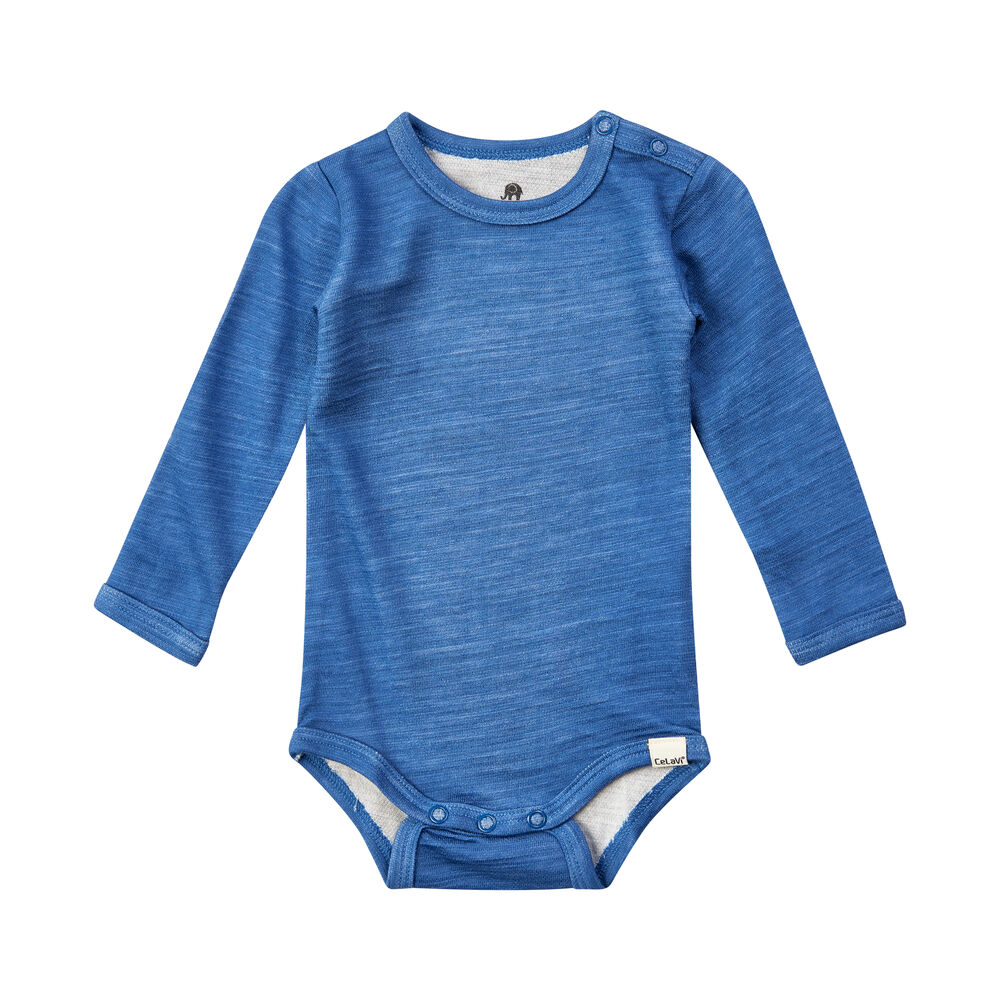 Image of   CeLaVi Uld Bamboo Body LS - 705/blue