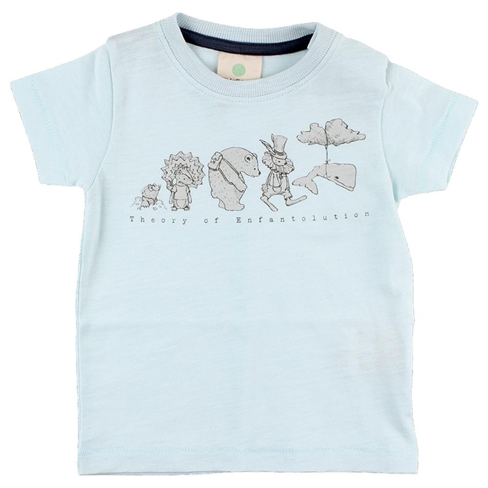 Image of   En Fant Gate Kortærmet T-Shirt - 03-53 Blue