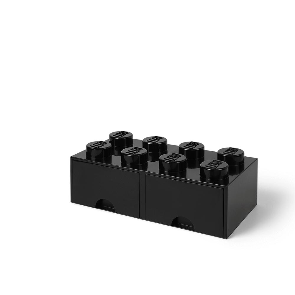 LEGO Storage LEGO Opbevaringsskuffe Brick 8 - Sort - Opbevaring - LEGO Storage