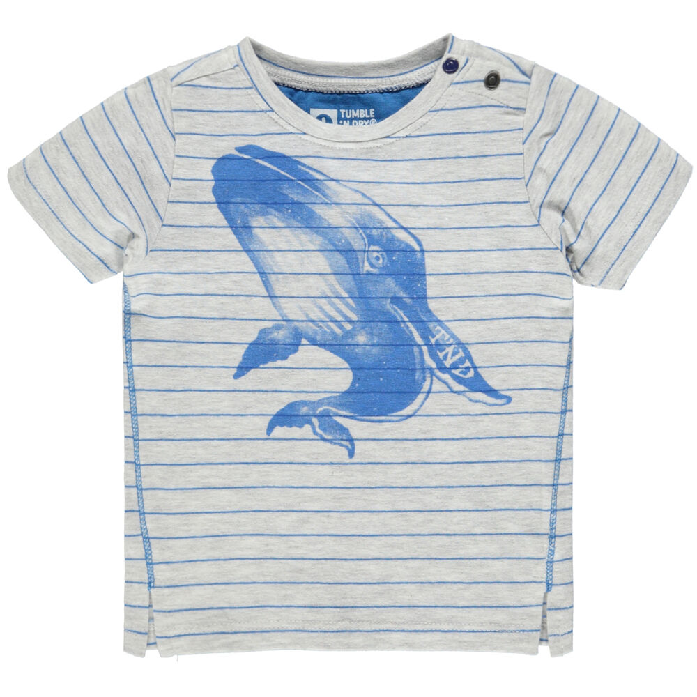 Image of Tumble´n Dry Fish T-Shirt - Grey Light (ed57b8e8-49c7-4de4-97de-4a2a34cae4b1)